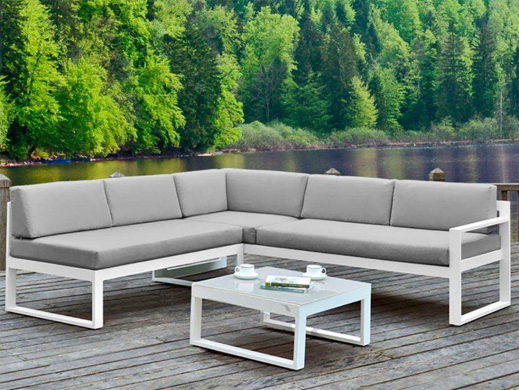 Un salon de jardin en aluminium pour l\'été - Blog MS